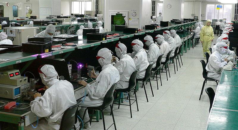 Usine électronique à Shenzhen - SchoolMouv - Histoire - Terminale