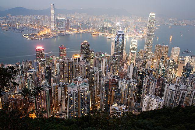 Panorama de la ville de Hong Kong - SchoolMouv - Histoire - Terminale