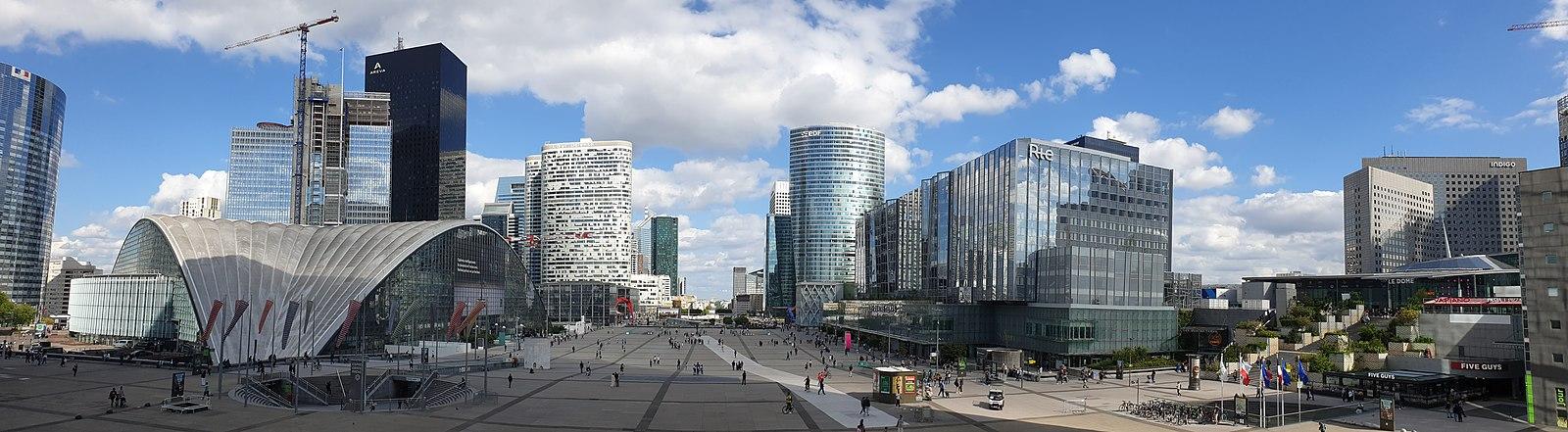 La Défense à Paris - SchoolMouv - Géographie - Terminale