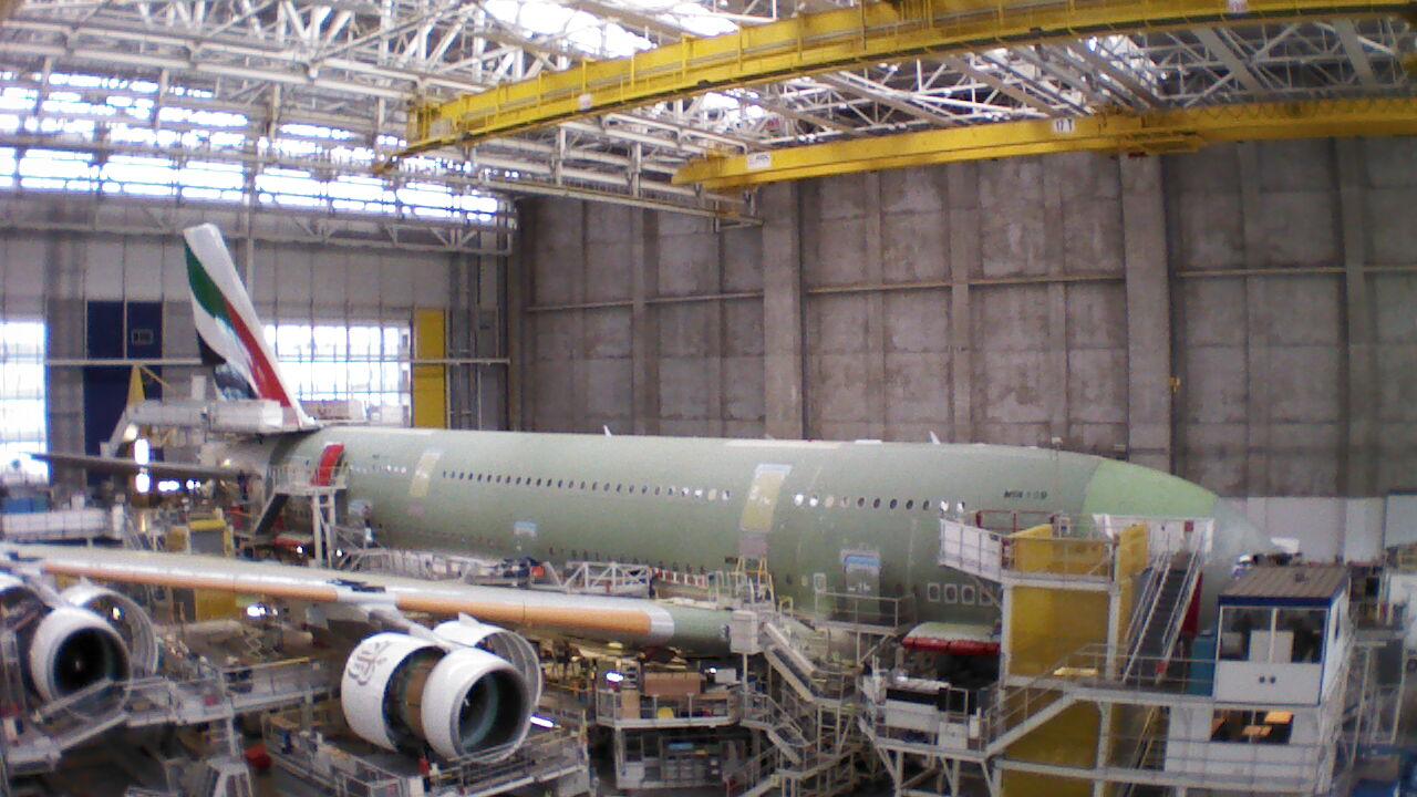 Assemblage Airbus A380 - Géographie - Terminale - SchoolMouv