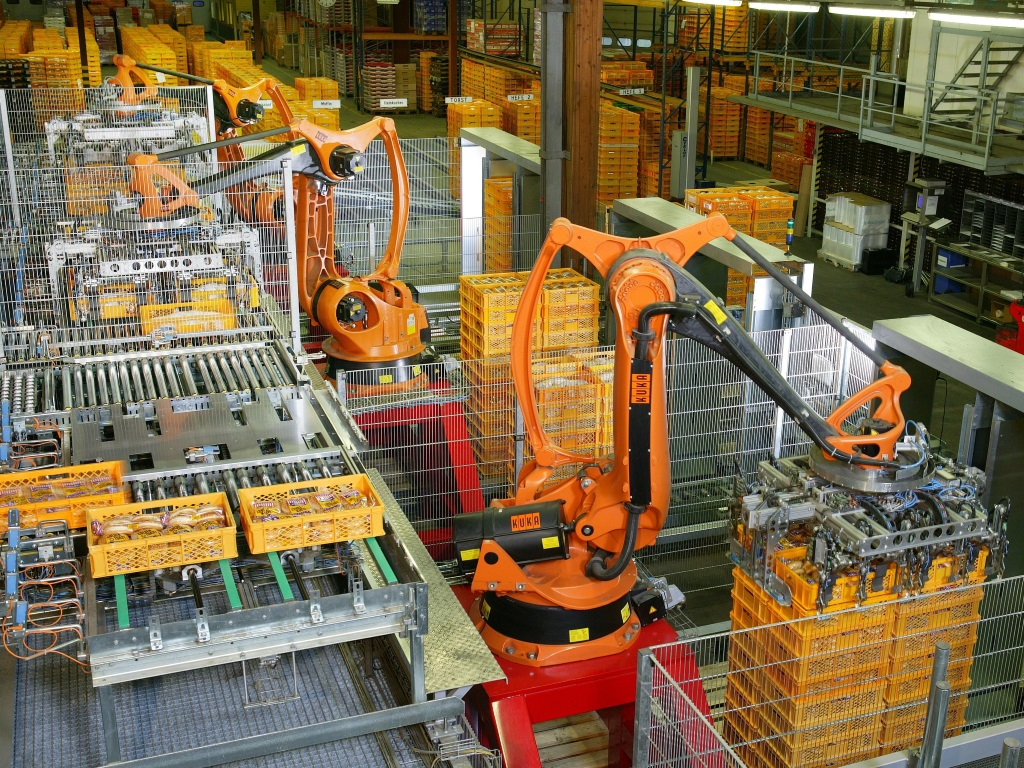 robots usine automatisation
