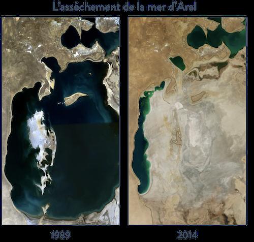 l'assèchement de la mer d'Aral hggsp histoire géographie géopolitique et sciences politique spécialité terminale