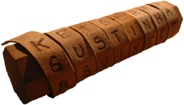scytale cryptographie chiffrement