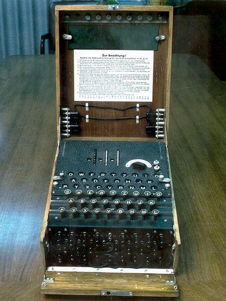 Enigma Turing cryptanalyse