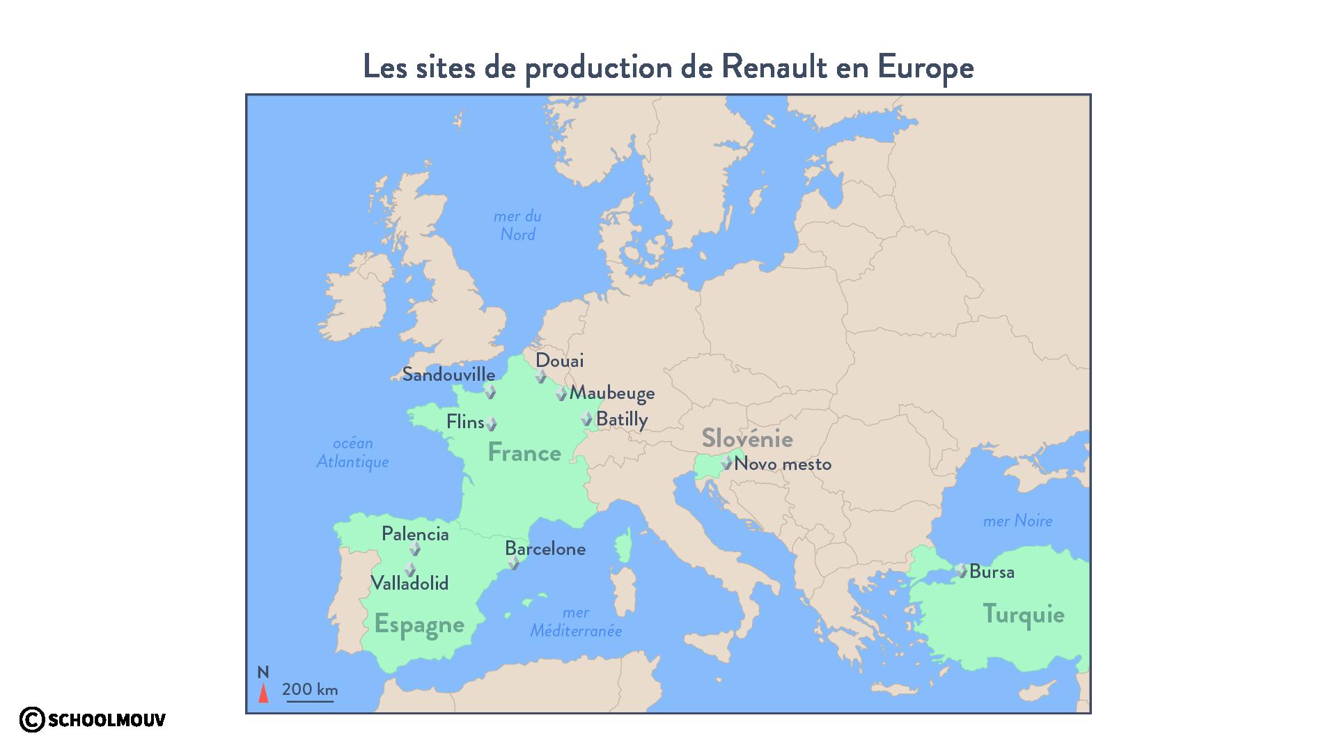 délocalisation Renault production