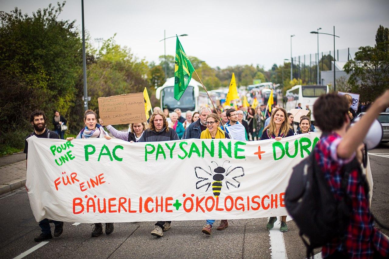 Manifestation PAC Europe environnement