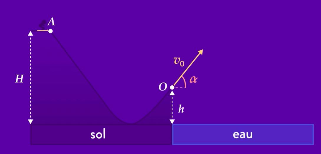 Physique chimie terminale mouvement champ uniforme